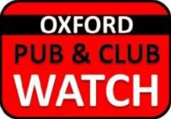 Oxford Pub and Club Watch